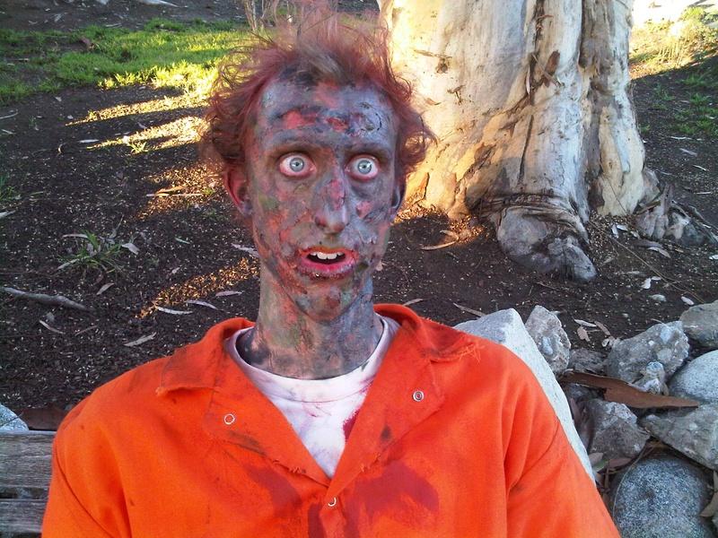 Zombie in MTV Halloween Promo